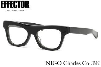 102 time limited! points up to 35 times! Effector eyeglasses eyewear frames EFFECTOR by NIGO Charles BK 53 size up to 10/6 (Thursday) 1:59 saying collaborate effectors and NIGO known-by Niger EFFECTOR by NIGO Charles.