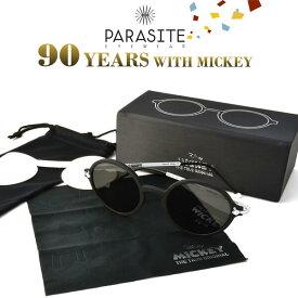 【PARASITE】(パラサイト) サングラス MICKEY 3SET ミッキー90周年記念モデル ディズニー ミッキーマウス レア 3本セット コレクターボックス メンズ レディース