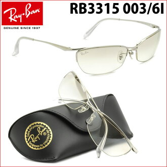 到要点最大26倍3月27日星期一9:59(雷斑)太阳眼镜RB3315 003/6I 60尺寸镜子雷斑RAYBAN人分歧D