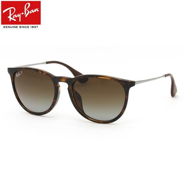 レイバン サングラス 偏光 エリカ Ray-Ban RB4171F 710/T5 54サイズレイバン RAYBAN ERIKA 710T5 ボストン 丸メガネ べっ甲 べっこう 偏光レンズ 偏光サングラス フルフィット メンズ レディース