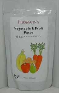 【キャットフード】 ヘルマン(Herrmann) グレインフリー オーガニック ビオ 野菜&フルーツペースト 愛猫用栄養補助食 全年齢・全猫種用 150g
