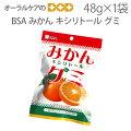 みかんキシリトールグミ48g【メール便可6袋まで】