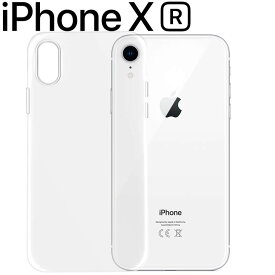 iPhoneXR ケース クリア TPU スマホ カバー ソフト ケース 透明 シンプル 薄型 アイフォン テンアール クリア 透明 スマホカバー しっとり質感 落としにくい スマホケース シンプル 薄い 持ちやすいケース (A)