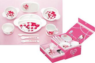 Combi Hello Kitty 婴儿菜设置框