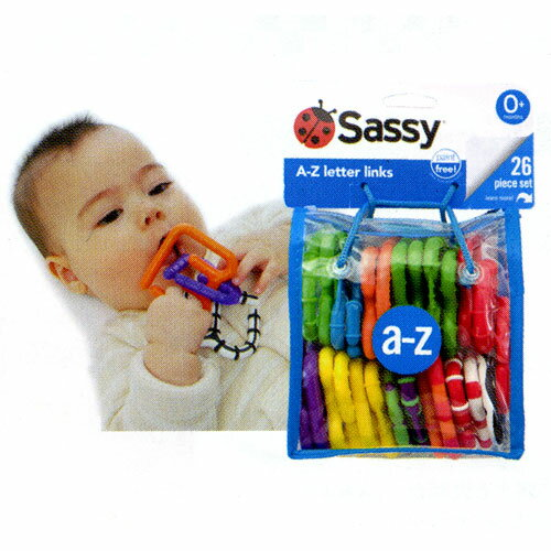 sassy(サッシー) Black&White レター・リンクス 80048