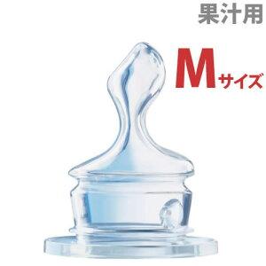 ヌーク NUKスタンダード替えニップルM 6-18カ月 シリコーン 丸穴(大/L) 果汁用