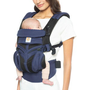 ERGO baby(エルゴベビー) ベビーキャリア OMNI(オムニ) 360 COOL AIR コバルトブルー【送料無料 沖縄・一部地域を除く】
