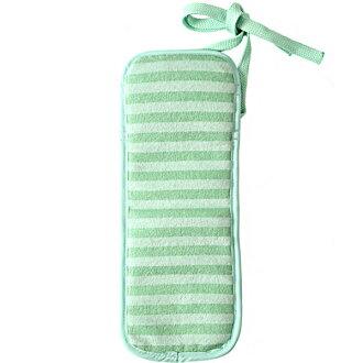 BabyHopper (babyhopper) 嬰兒承運人和童車的冷、 暖床單綠色邊框