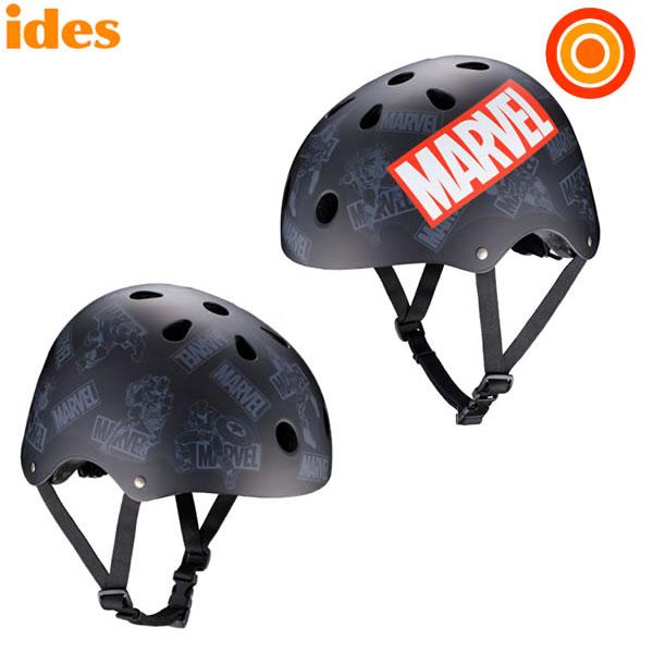 +ポイント5倍 アイデス ストリートヘルメット マーベル キックバイク/自転車/スケボーに【送料無料 沖縄・一部地域を除く】