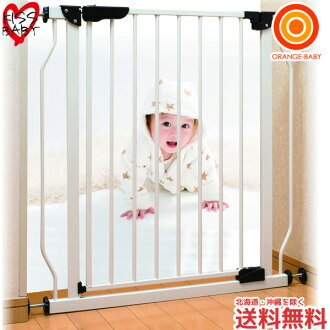 Chinese international KISS BABY Steelgate white 88-692 safety gate