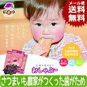 【メール便送料無料】【生後約6か月から】長崎の昔おやつ おしゃぶー 食育 歯固め おしゃぶり さつまいも農家がつくった赤ちゃんの歯がため ランキングお取り寄せ