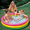 INTEX( Intec's) sunset glow lamp baby swimming pool 114cm 57412