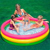 INTEX( Intec's) sunset glow lamp baby swimming pool 147cm 57422