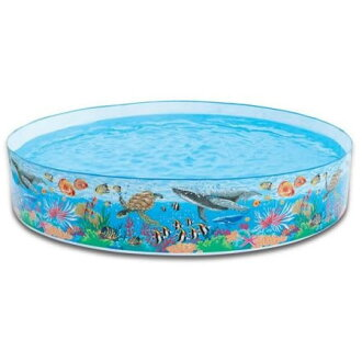 Swimming pool INTEX (Intex) ダイナソースナップ set 244 cm 58472