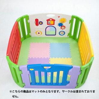 日本養育孩子的音樂孩子土地正方形墊子