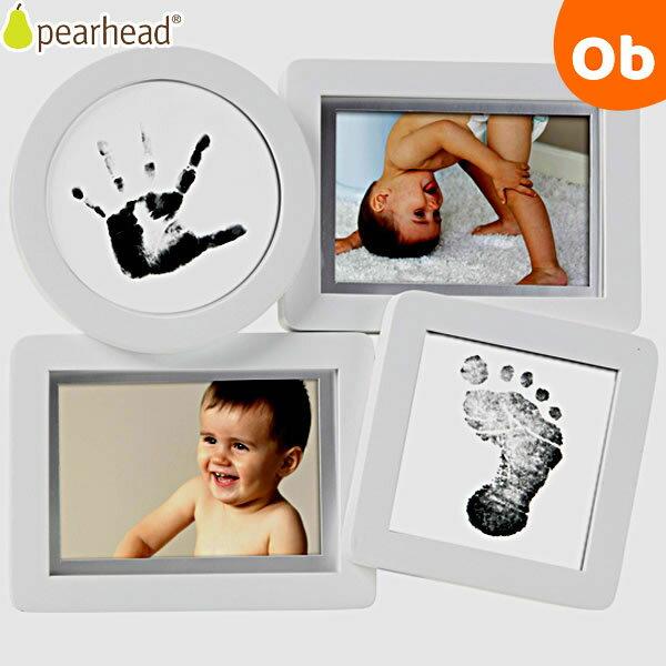 pearhead(ペアヘッド) ベビープリント・コラージュフレーム ホワイト【送料無料 沖縄・一部地域を除く】