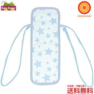 BabyHopper (babyhopper) 婴儿承运人和童车的冷、 暖床单蓝星