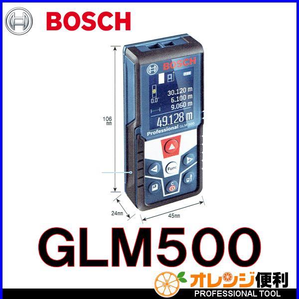 BOSCH ボッシュ レーザー距離計 GLM500 測定範囲50m 【856-9152】