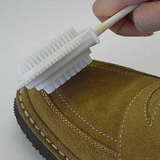 IPI 麂皮絨 & 磨砂柄刷 (寶石麂皮絨 & 磨砂柄刷) 鞋刷