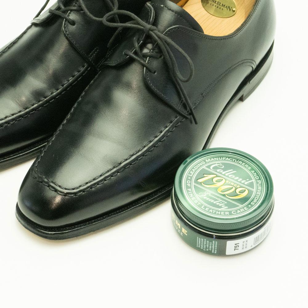 靴磨き コロニル1909 シュプリーム クリーム デラックス 100ml ツヤ革・デリケートレザー・コードバンの シューケア 手入れ