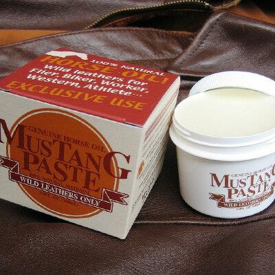MUSTANG PASTE(マスタングペースト) 100ml【あす楽対応】(ワイルドレザー 保革栄養)