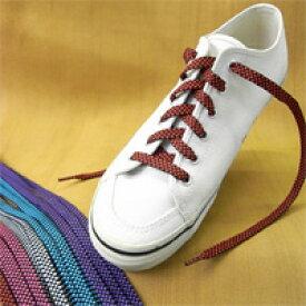 【シューケア/靴紐】シューレースチェッカーコード 120cm(全5色)【あす楽対応】靴ひも [M便 1/8]