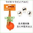 【今だけ送料から150円引き!】LIKER7 LINE★ライカ7ライン★ボールにベルトがついてます!欧米で大人気♪