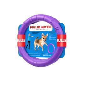 PULLER MICRO プラーマイクロ・極小サイズ☆プラーはドーナッツ型のドッグトレーニング玩具★犬のおもちゃ【普通郵便でお届け】