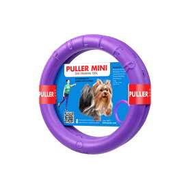PULLER MINI プラーミニ☆プラーはドーナッツ型のドッグトレーニング玩具★犬のおもちゃ【レターパックプラスでお届け・日時指定不可】