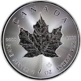 カナダ メイプル銀貨 2020年 1オンス 純銀 31.1g 新品未使用