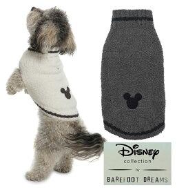 ベアフットドリームス×ディズニーコラボ ミッキーマウスドッグセーター/犬の洋服/Barefoot Dreams CLASSIC DISNEY MICKEY MOUSE PET SWEATER/DNPCC1065【あす楽対応_関東】【Disneyzone】