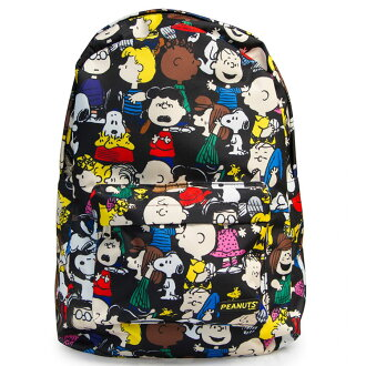 Loungefly Peanuts Gang Multi Character Backpack P27Mar15