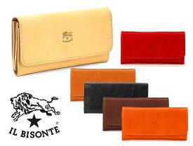 イルビゾンテ(Il Bisonte)レザー長財布/Continental Wallet in Cowhide Leather C0775P/2019年新入荷モデル【あす楽対応_関東】