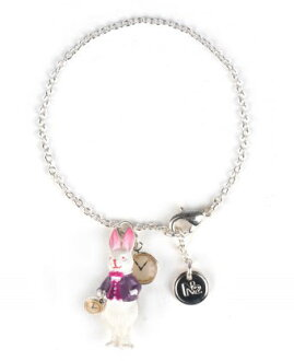 Les Nereides N2 The white rabbit bracelet