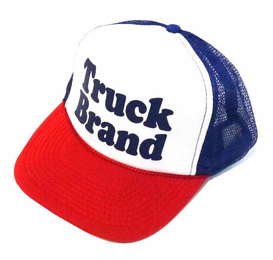 トラックブランド(Truck Brand)SIMPLEメッシュキャップ/レッド×ブルー×ホワイト【正規品】【あす楽対応_関東】02P28Sep16【楽ギフ_包装】【あす楽_土曜営業】