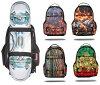 Sprayground SKATE Backpack /LIVEST SKATE/FIRE MONEY SKATE/PHEONIX SKATE/STEALTH BLACK SPYTHON SKATE/RASTA MONEY SKATE