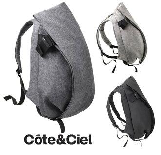 Cote&Ciel Isar Rucksack L size (Black、Black Melange、Grey Melange)