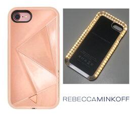 レベッカミンコフ(Rebecca Minkoff)光るLED iPhone6、7、8ケース/ミラーローズゴールド/iPhone6【あす楽対応_関東】