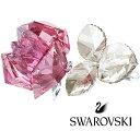 スワロフスキー(SWAROVSKI)ブロッサミング ローズ Light Pink/薔薇のクリスタルオブジェ/Blossoming Rose/スワロフスキー社製置...