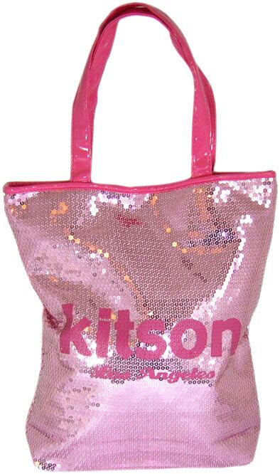 KITSON(キットソン)スパンコールトートバッグ(ピンク×ピンク) 【正規品】【あす楽対応_関東】02P28Sep16【楽ギフ_包装】【