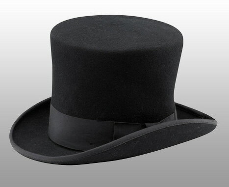 ニューヨークハット(New York Hat)マッドハッターハット/MAD HATTER/シルクハット(ブラック)【正規品】【あす楽対応_関東】02P28Sep16【楽ギフ_包装】【あす楽_土曜営業】【送料無料】