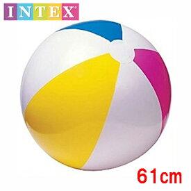 BiG!INTEX ビーチボール 61cm 定番カラー 大きくて楽しいよ海やプールに!【ネコポス便は送料無料 宅配便780円】