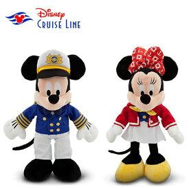 【宅配便送料無料】超激レア!Disney cruise line限定商品ミッキーマウス/ミニーマウスぬいぐるみ
