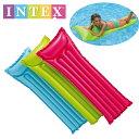 INTEX グロッシーマット 183×69cm インテックスintex 水の上で寝ころべます。intex 59703 【ネコポスは送料無料】