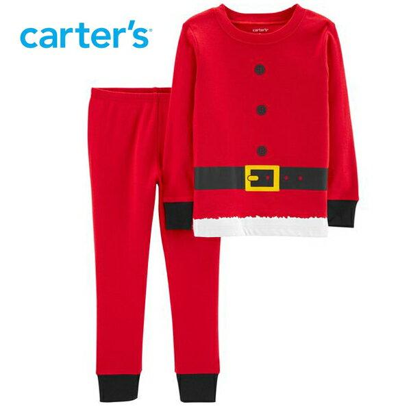 carter's カーターズ キッズパジャマ上下セット クリスマス サンタクロースデザイン 子供 男の子 女の子【激レア 日本未発売】【ネコポスは送料無料】