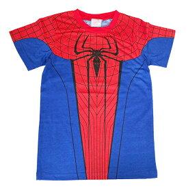 スパイダーマンキッズ Tシャツ 子供用コスチューム ハロウィンコスチューム コスプレ 仮装パーティー ネコポスは送料無料