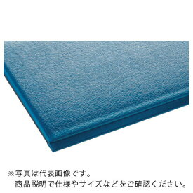 テラモト テラクッション極厚 ブルー 900×1500mm MR-069-044-3 ( MR0690443 ) (株)テラモト