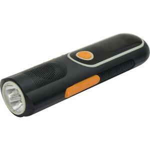 日動 自家発電LEDライト 手回し充電タイプ ラジオ付 LEH-05W-PG ( LEH05WPG ) 日動工業(株)