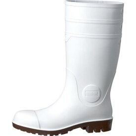 ミドリ安全 耐油・耐薬 安全長靴 ワークエース NW1000スーパー ホワイト 27.0CM NW1000SP-W-27.0 ( NW1000SPW27.0 ) ミドリ安全(株)