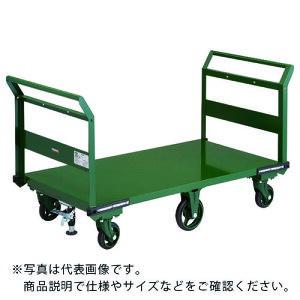 TRUSCO 鋼鉄製運搬車 1400X750 両袖型 鋳物6輪車 S付 OH-1LW-6S ( OH1LW6S ) トラスコ中山(株)